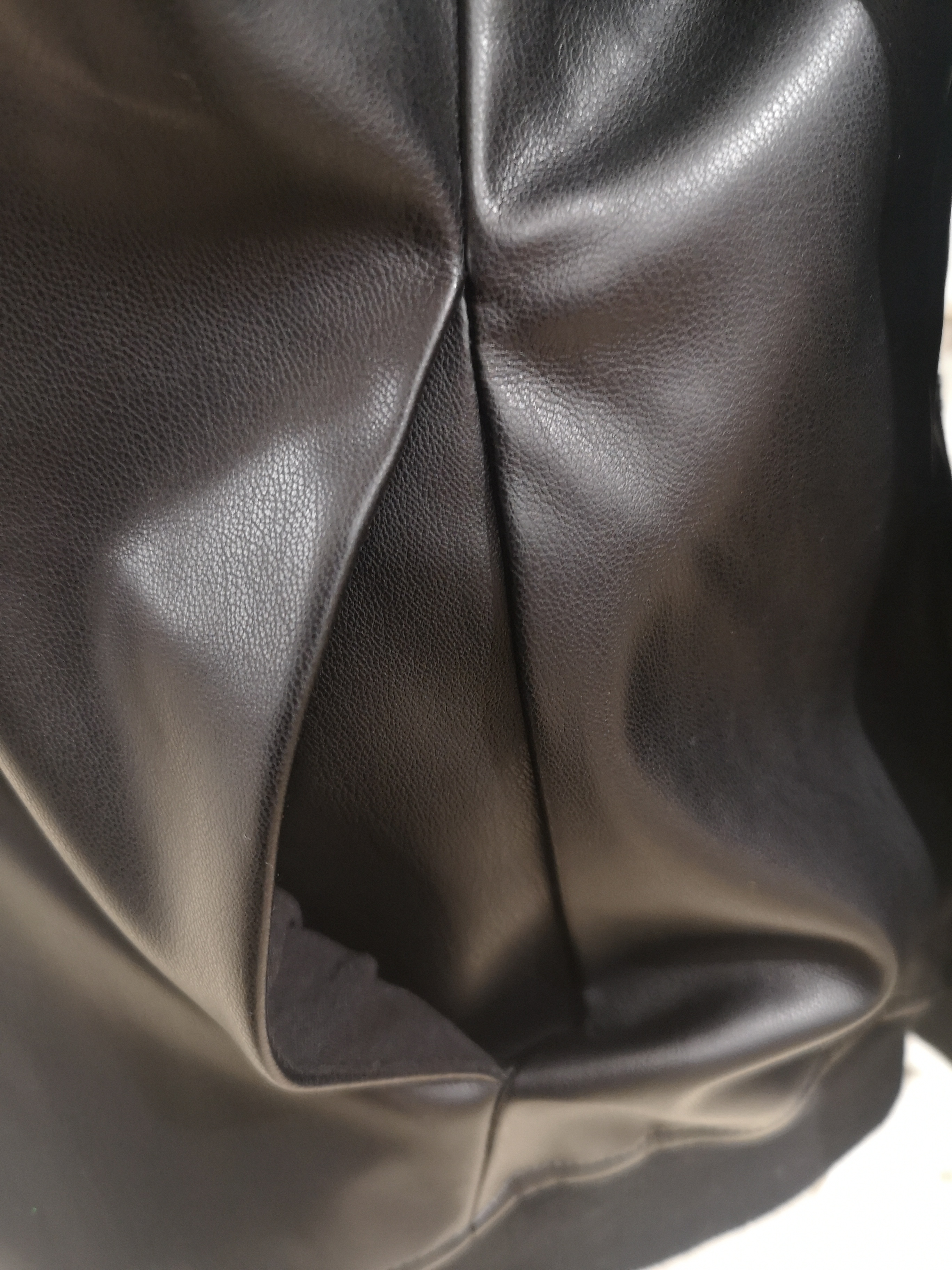 Kueen Eco leather Trump hoodie / sweater Kueen | Sweaters | FELPA ECOPELLE-