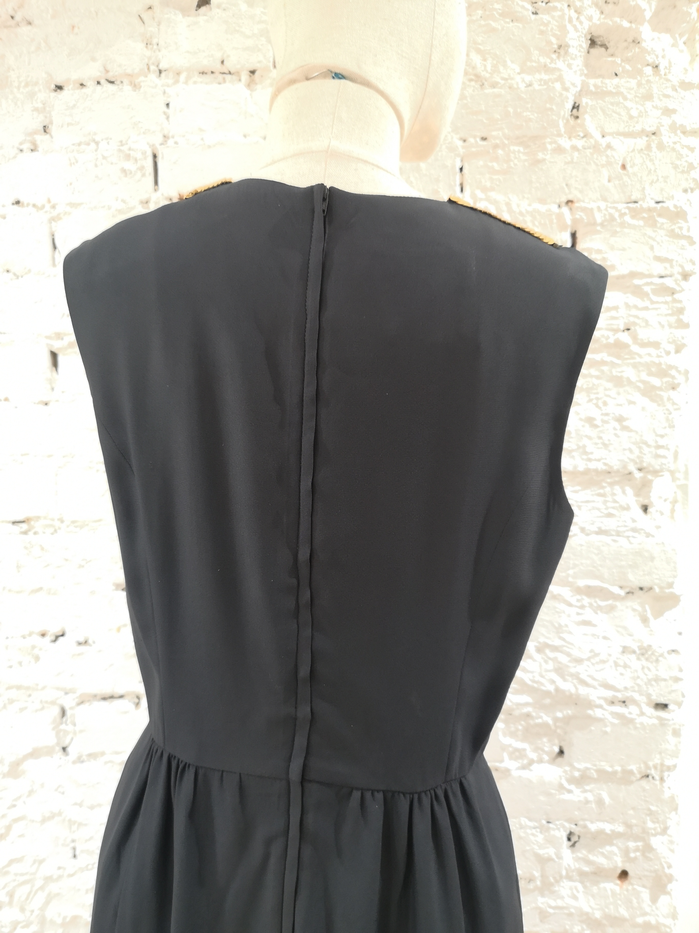 Moschino Gold sequins VIP Dress Moschino | Dresses | SD020XSF140VIP