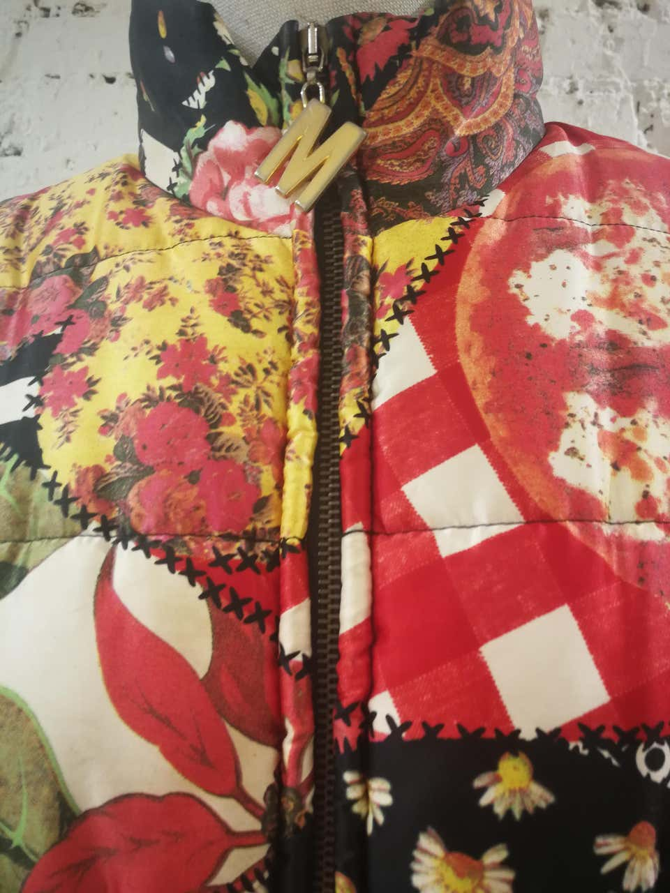 Moschino FashOn and FashOff multicoloured Bomber Moschino | Bomber | SD020ZA10DCSA0MULTI