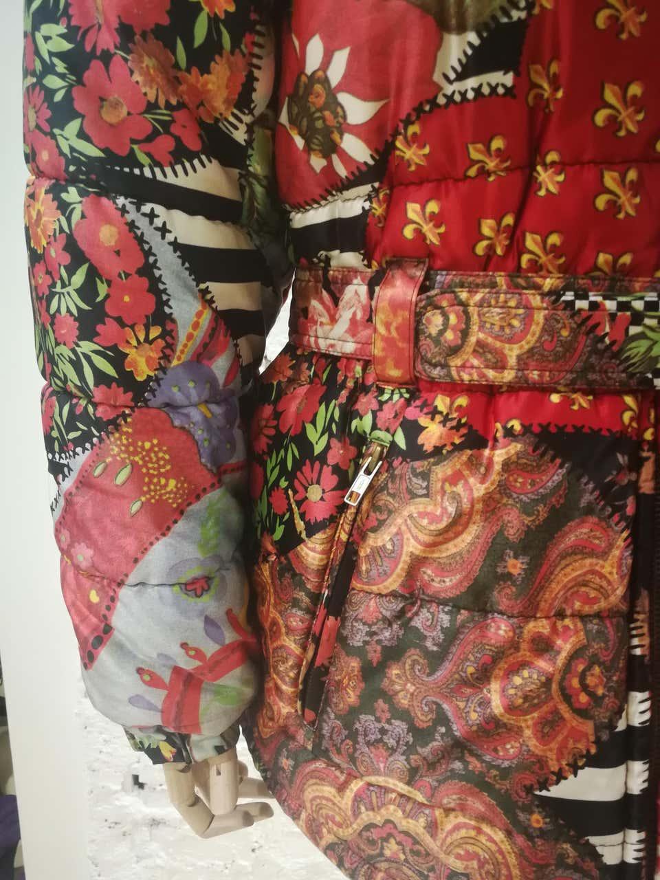 Moschino FashOn and FashOff multicoloured Bomber Moschino | Jackets | SD020ZA10DCSA0MULTI