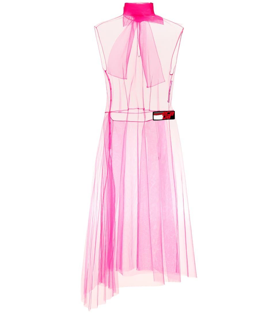 Prada fucsia purple tulle dress PRADA | Dresses | AT0210CS25RV0SVIOLA