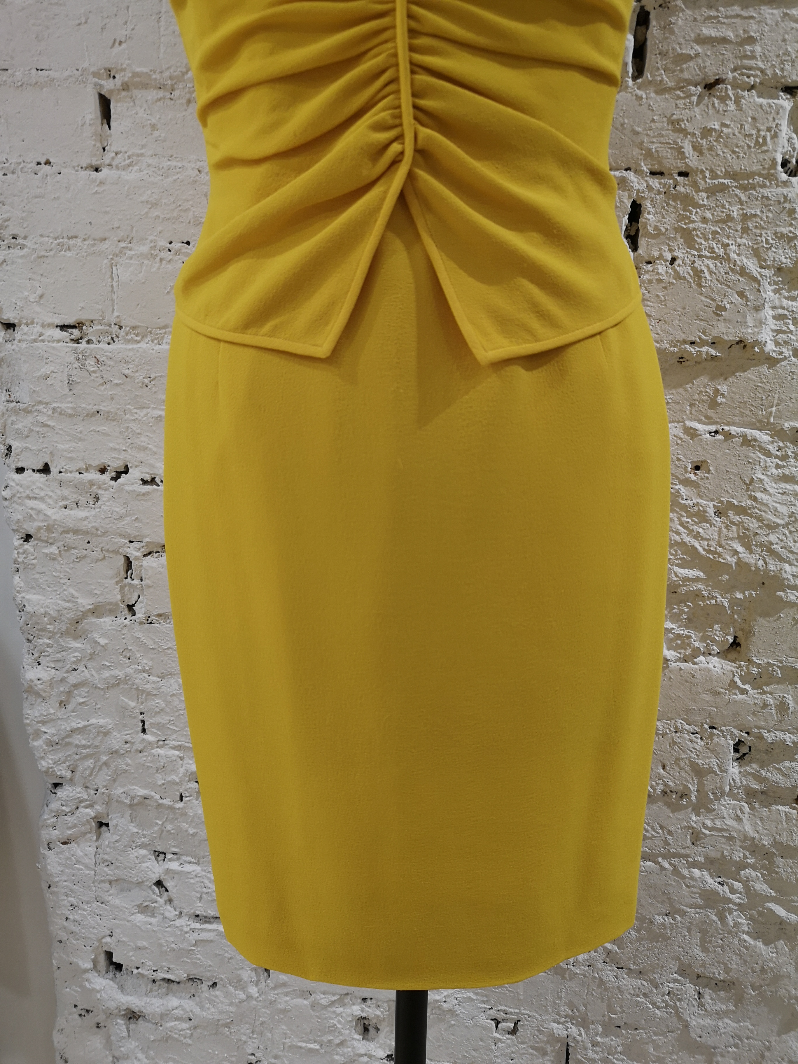 Ungaro Yellow cupro Dress Ungaro   Abito   AT020XS10D0CSGIALLO
