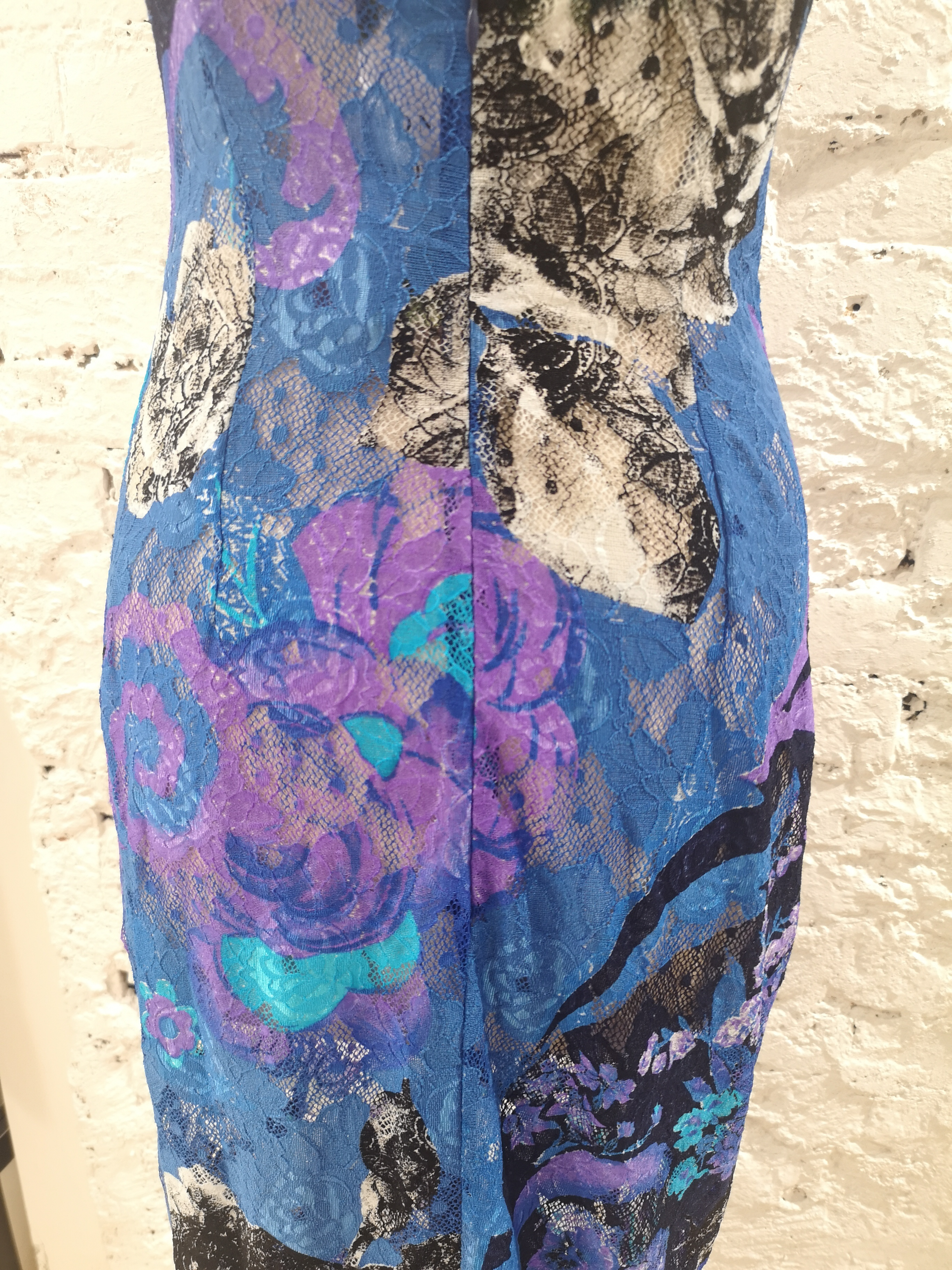 Istante by Gianni Versace multicoloured flower long dress Versace | Abito | AT020XS3750EVISTANTE BLU