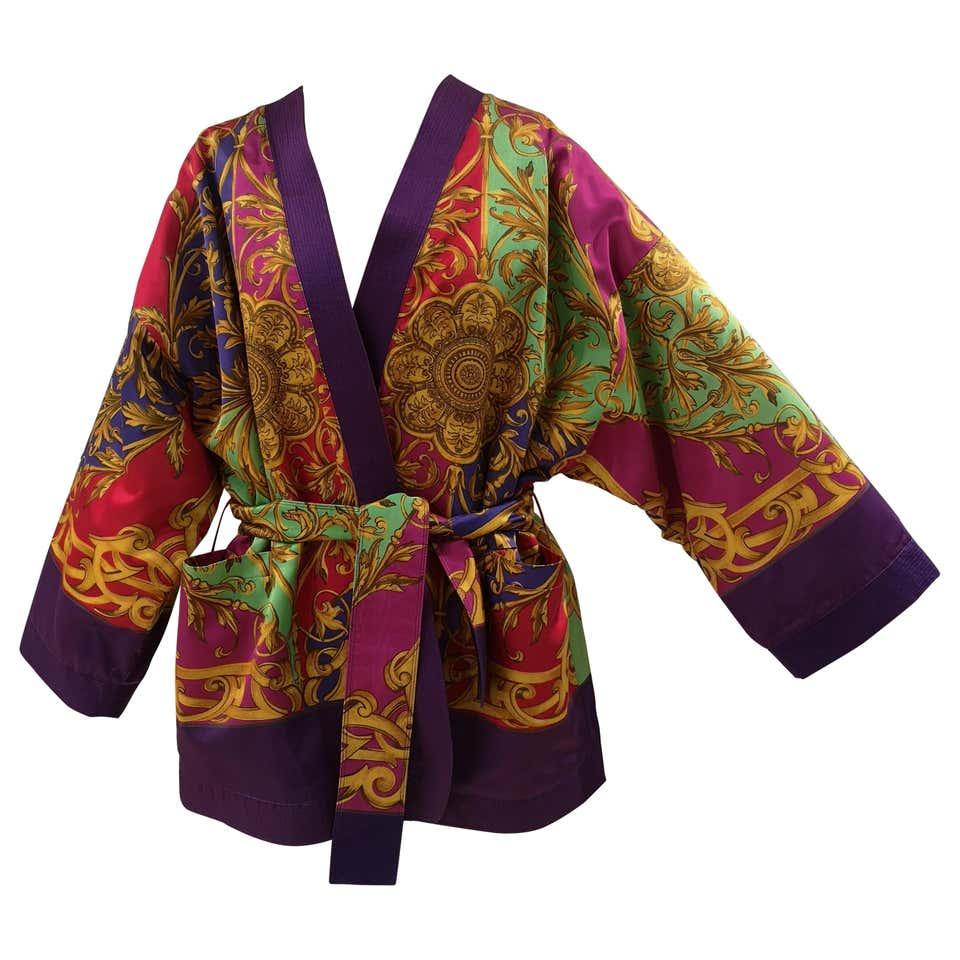1990 Gianni Versace Vintage multicoloured Kimono Versace   Kimono   AT020XSS16EF00-