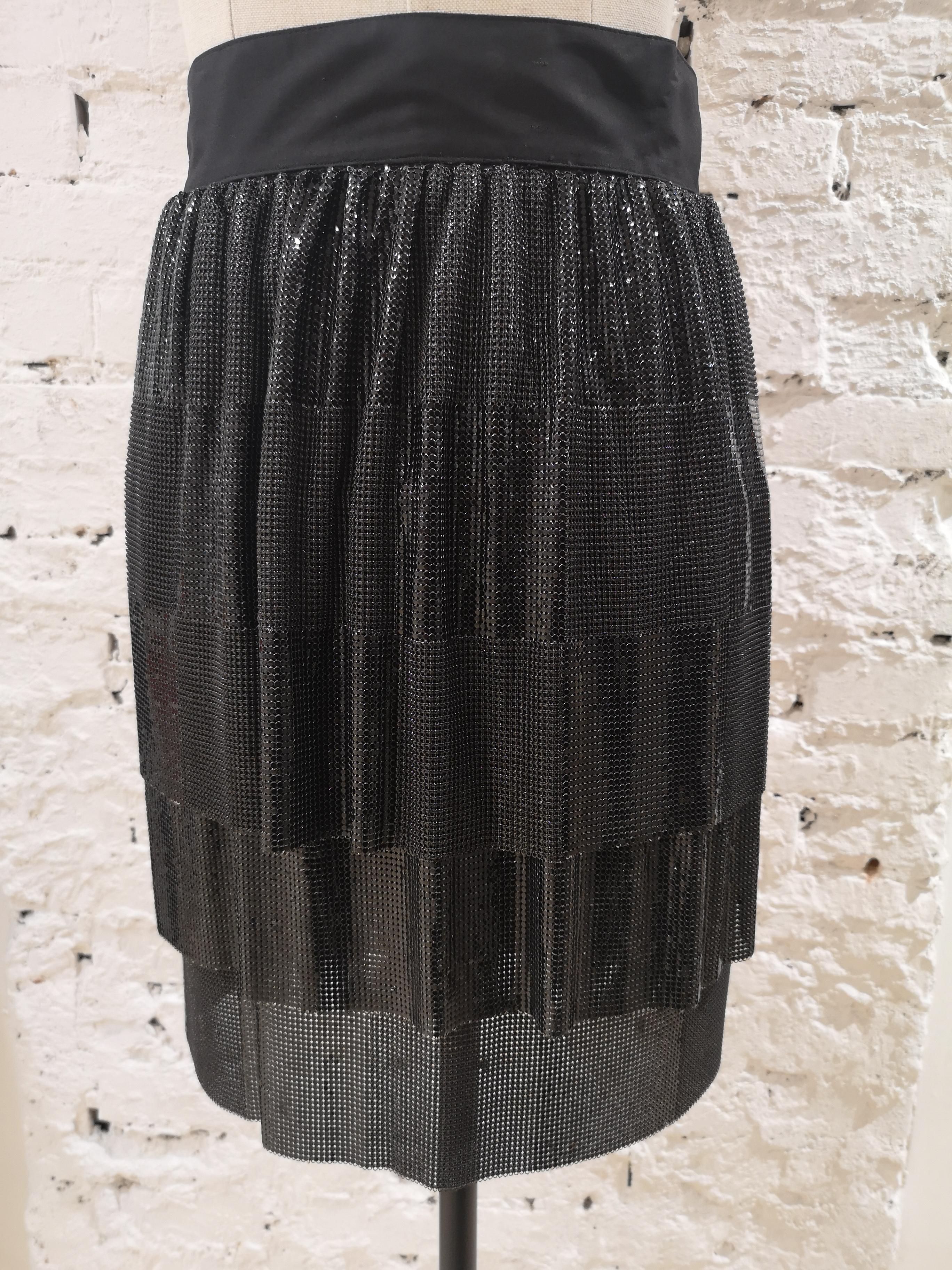 Gianni Versace black Skirt Versace | Gonna | SD020ZA50DCNERO