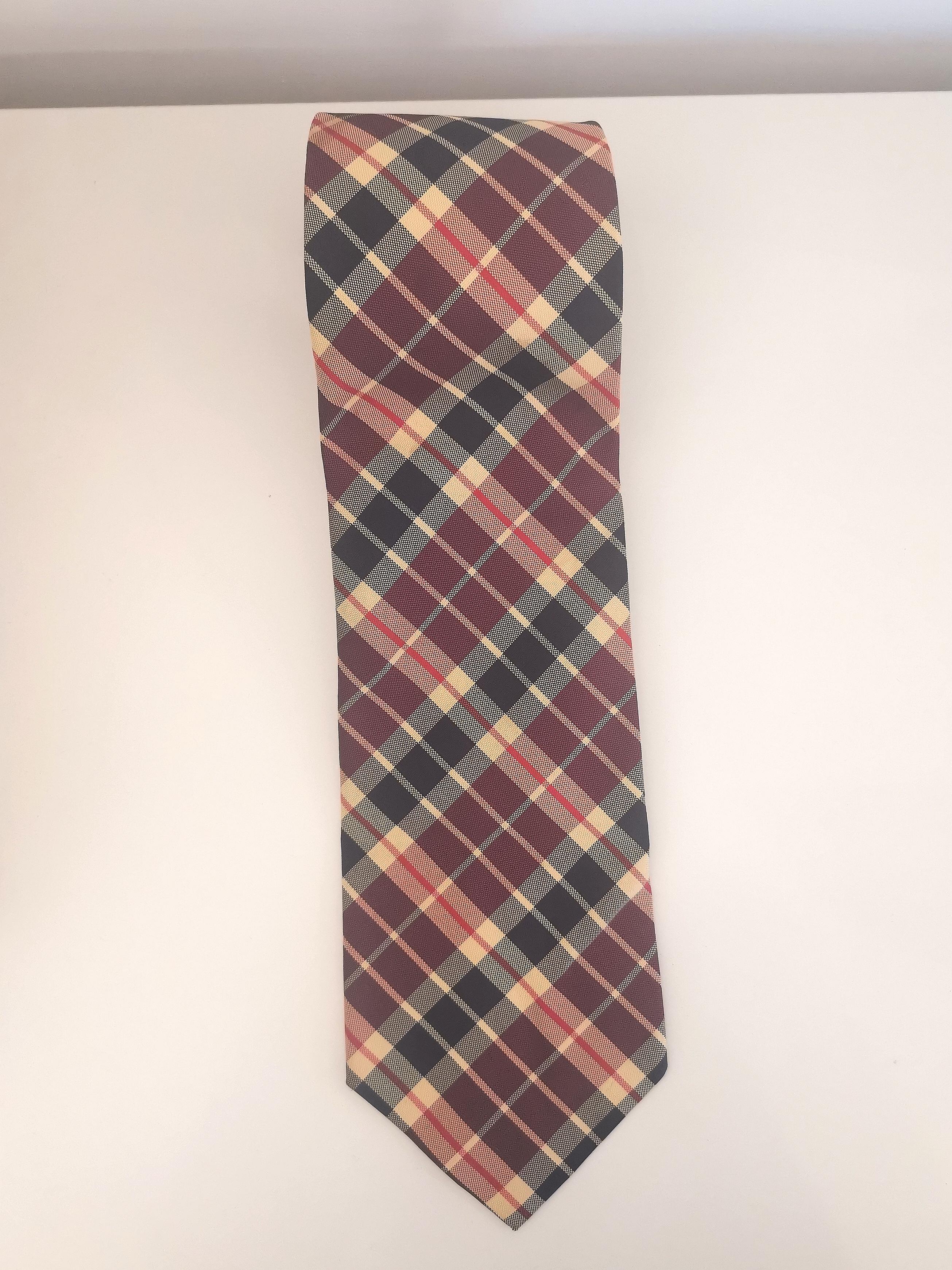 Daniel Levil multicoloured tie VIntage | Cravatta | CRAVATTA13