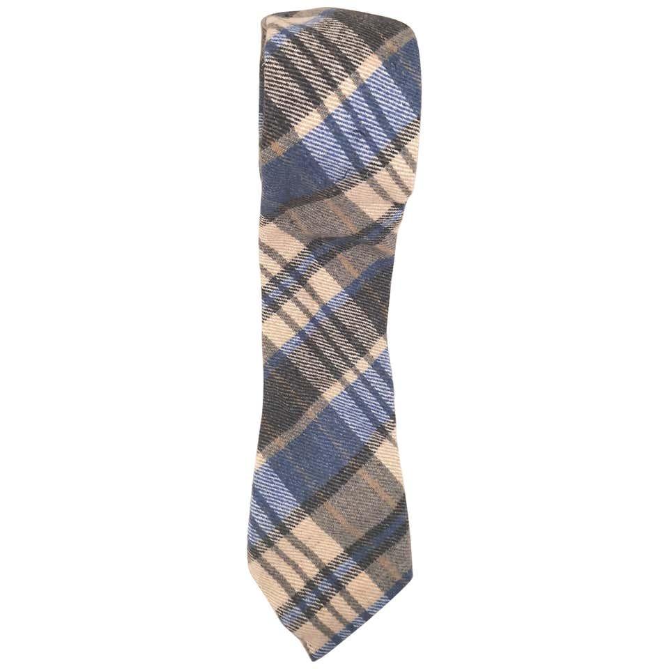 Vintage multicoloured wool tie VIntage   Cravatta   CRAVATTA3