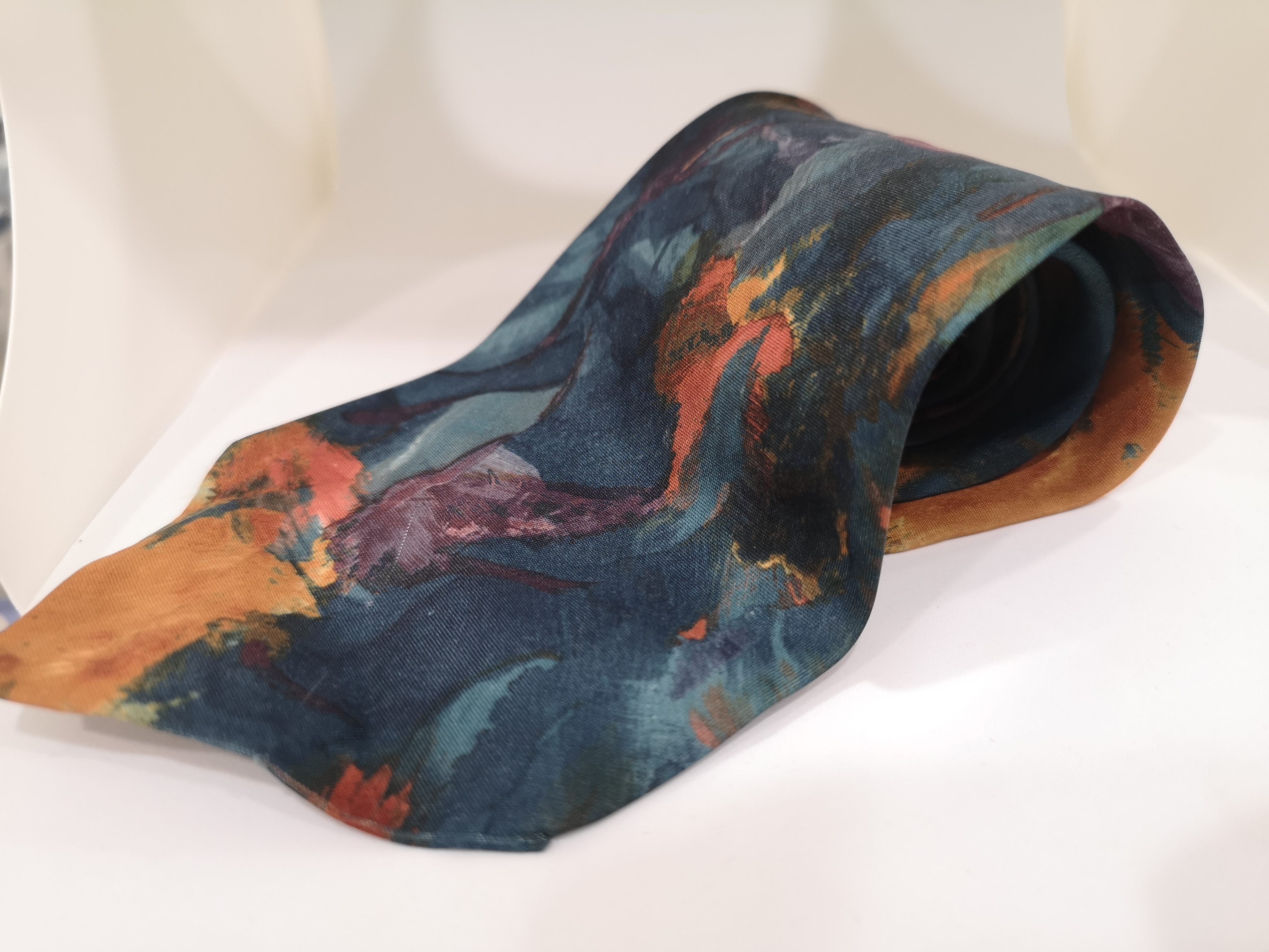 Style multicoloured silk tie VIntage |  | CRAVATTA31