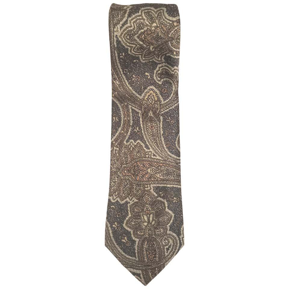 Ermans multicoloured tie VIntage   Cravatta   CRAVATTA4