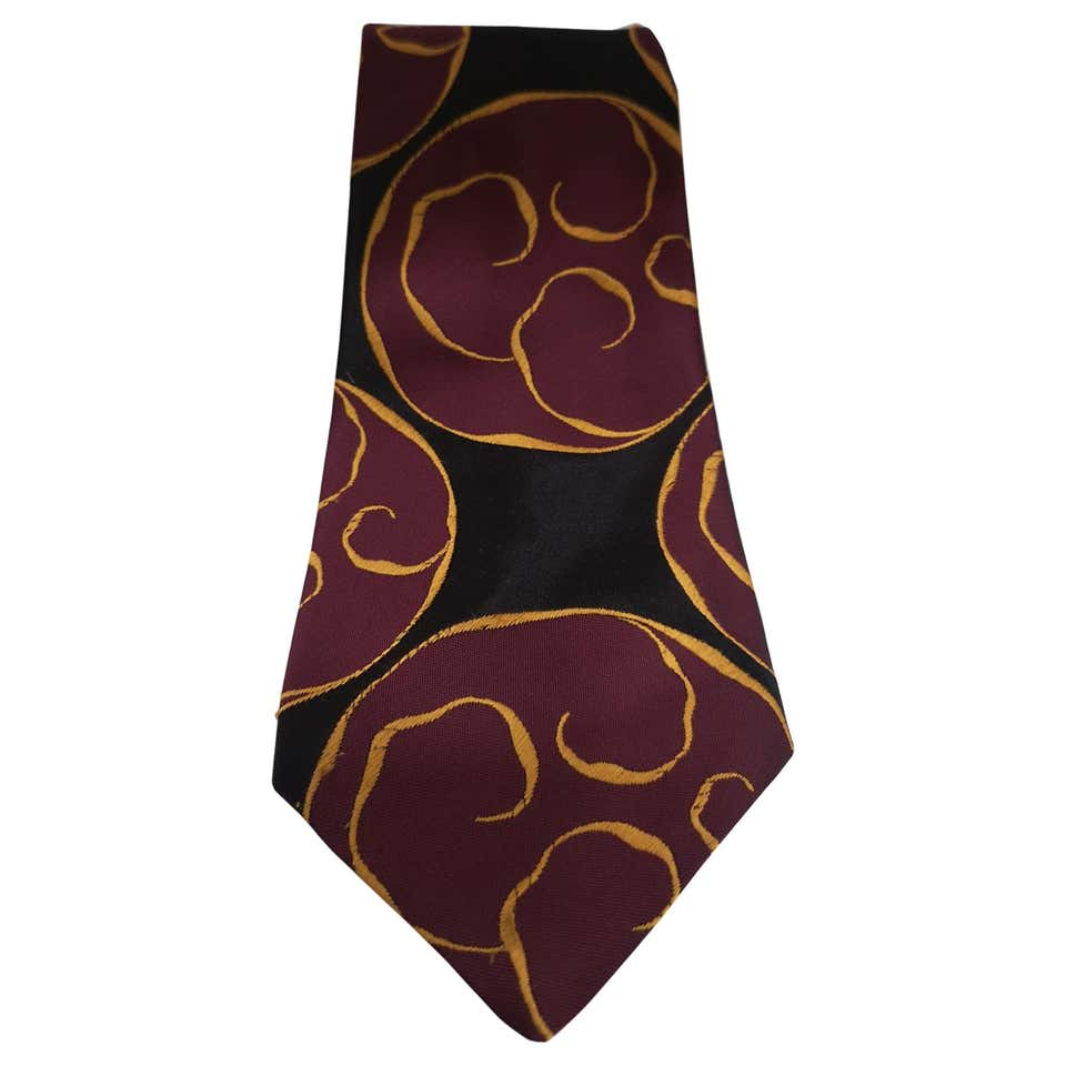 Creazioni black purple silk tie VIntage |  | CRAVATTA45