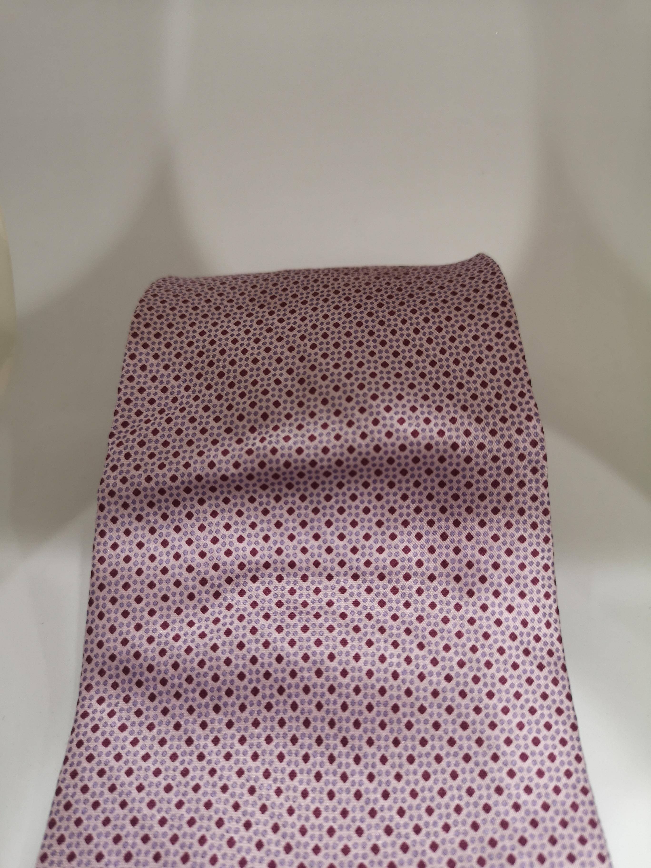 David & David Light purple / pink silk tie VIntage | Cravatta | CRAVATTA51