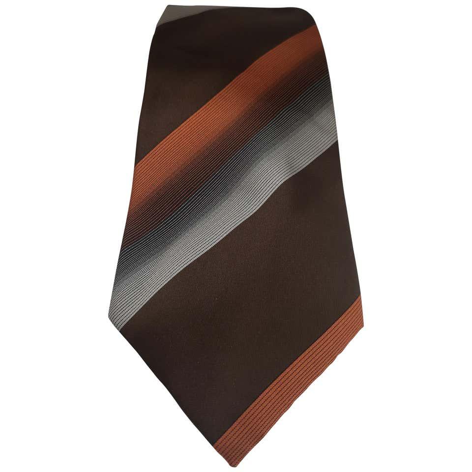 Effetto seta multicoloured silk tie VIntage   Cravatta   CRAVATTA56
