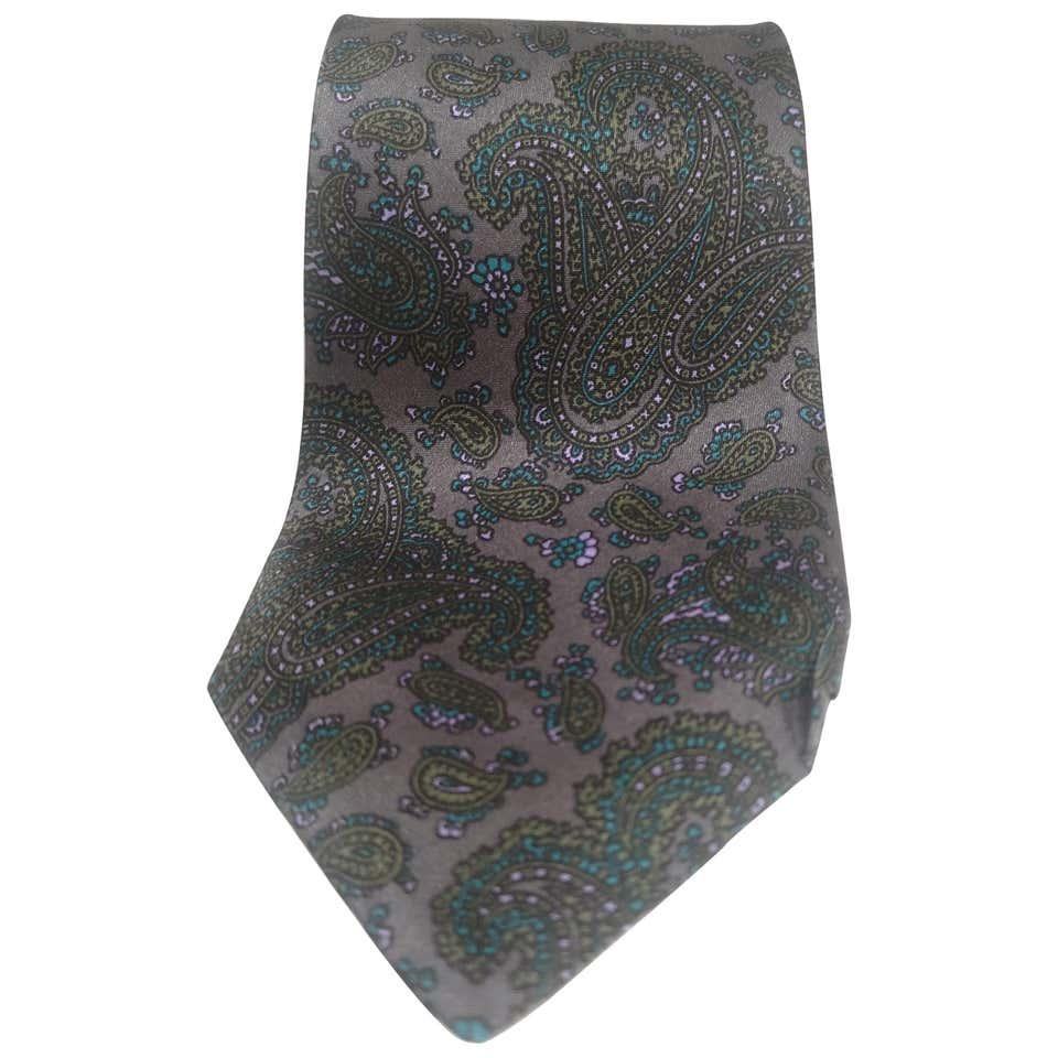 Giorgio Armani Vintage multicoloured silk tie Armani      TIEGRIGIO MULTI