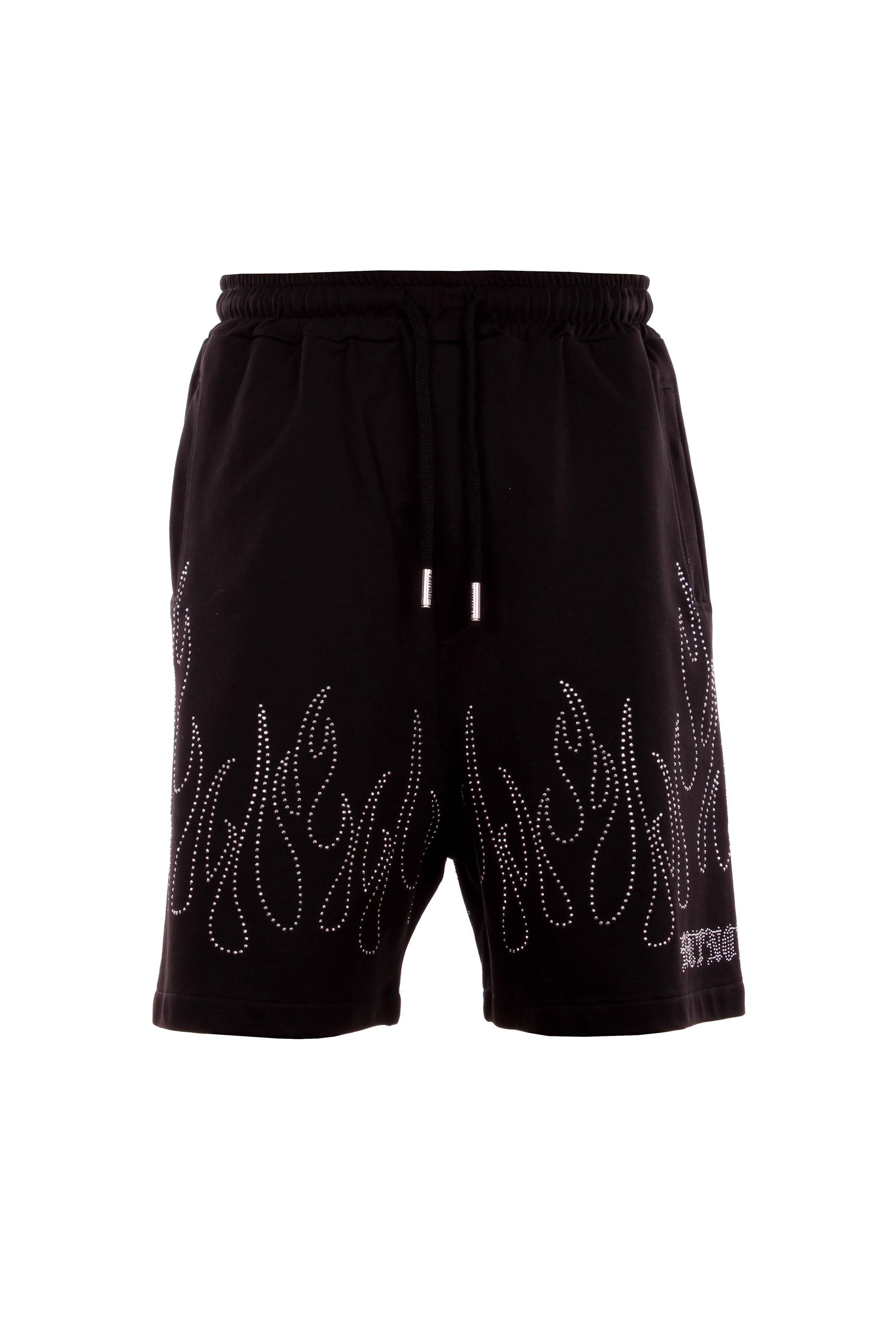 Butnot shorts strass fiamme Butnot   Bermuda   U9132STRASS FIAMME