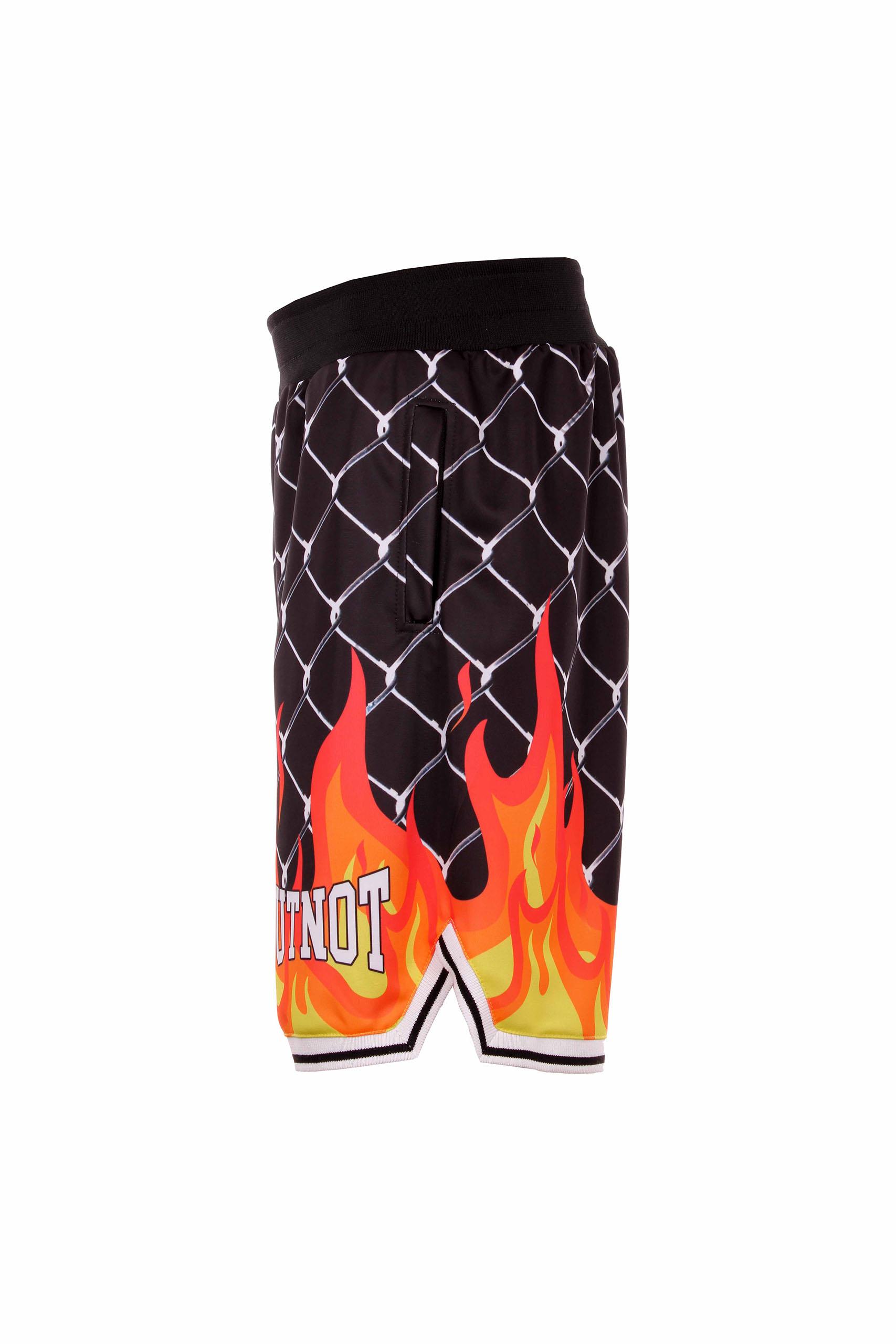 Butnot shorts rete fuoco Butnot   Bermuda   U9599STAMPA FUOCO