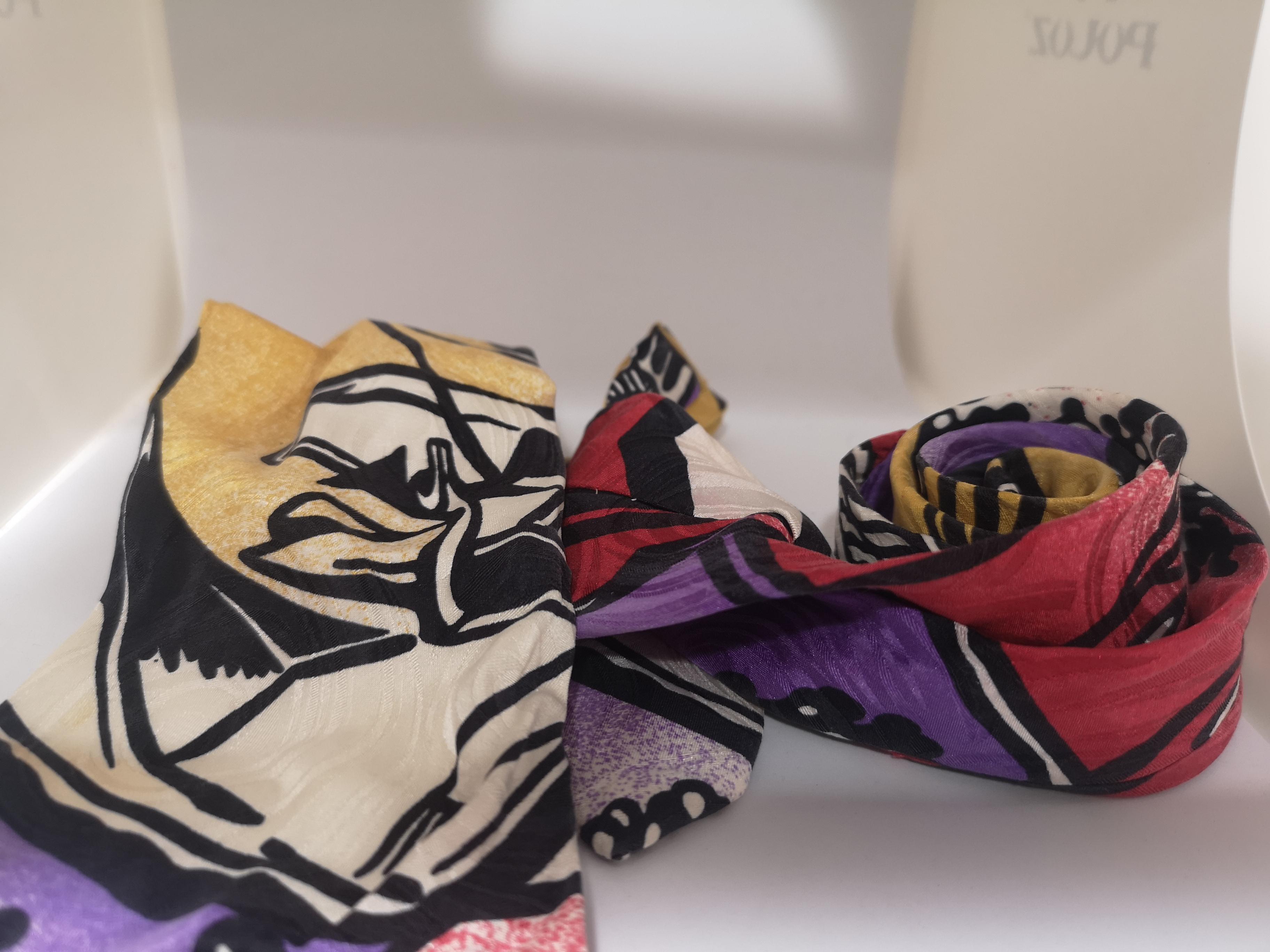 Byblos multicoloured silk tie Byblos      MULTICOLOUREDTIE