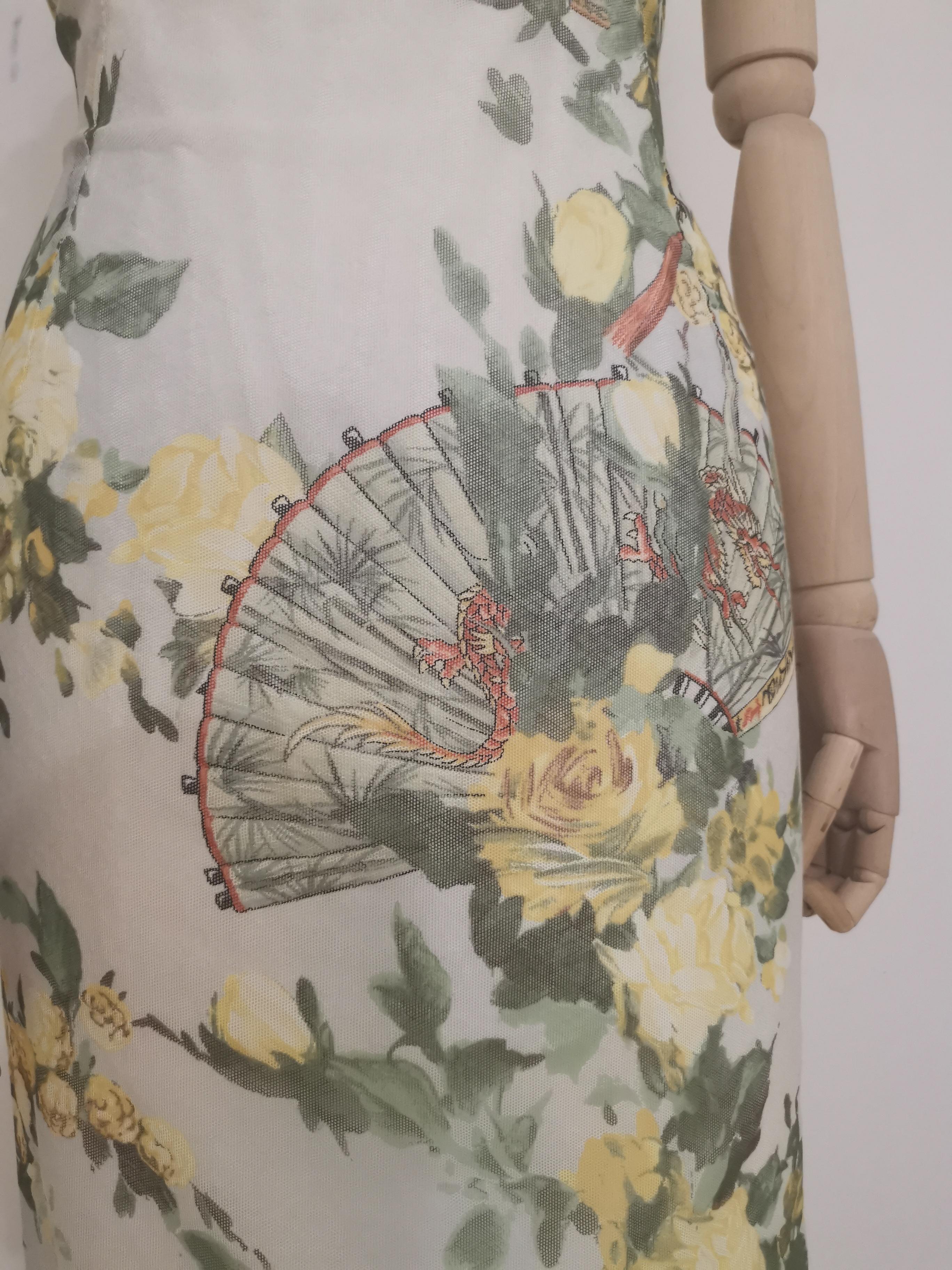 Dolce & Gabbana white flower print dress Dolce&Gabbana | Abito | AC02115ZA0DCFIORI