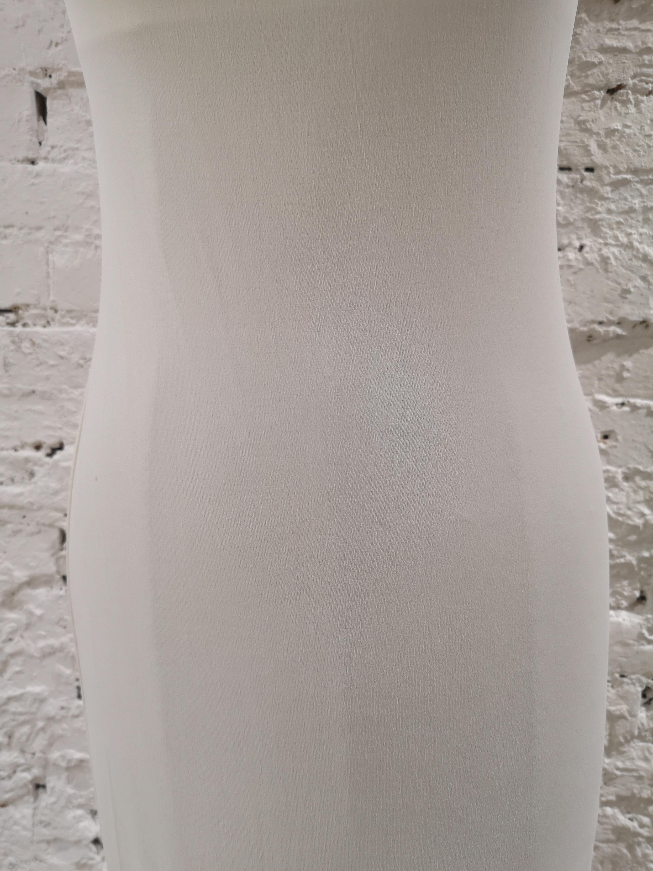 Mattiolo Jeans long white dress Gay Mattiolo   Abito   AC02150XSFCDSPALLINE