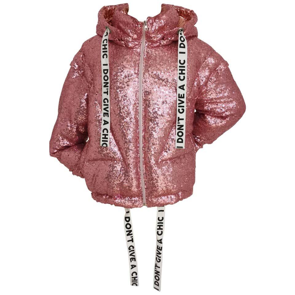 House of Mua Mua pink sequins bomber jacket House of Muamua   Jackets   BOMBERPINK