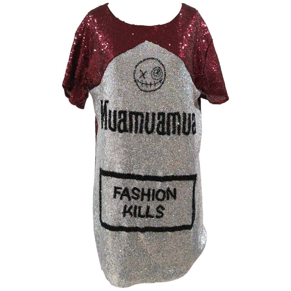 House of Mua Mua handbeaded maxi tee House of Muamua | Dresses | MAXI TEEMUALBOROBORDEAUX