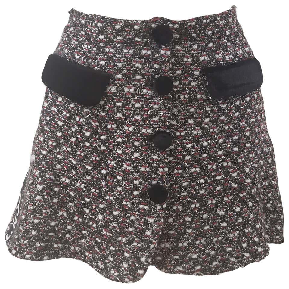 House of Mua Mua tweed skirt House of Muamua | Skirts | RWEEDBLACK