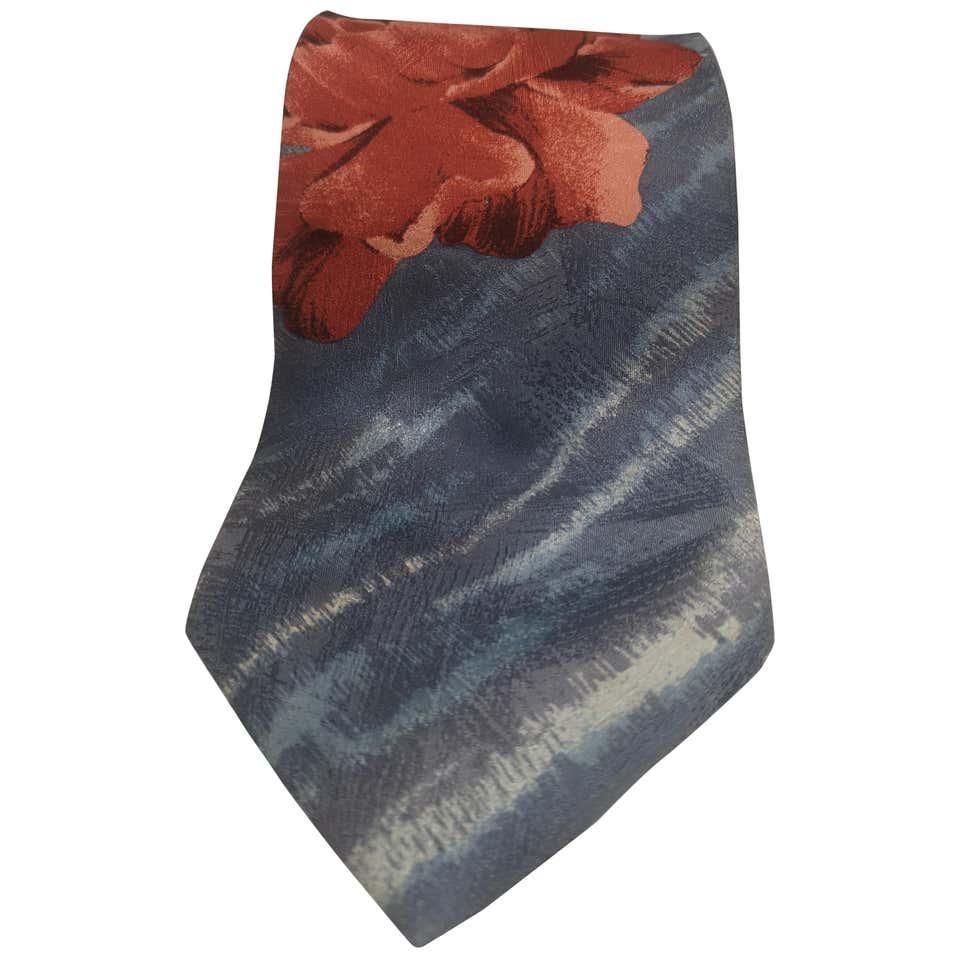 Kenzo Vintage multicoloured silk tie Kenzo   Cravatta   CRAVATTA/MULTI