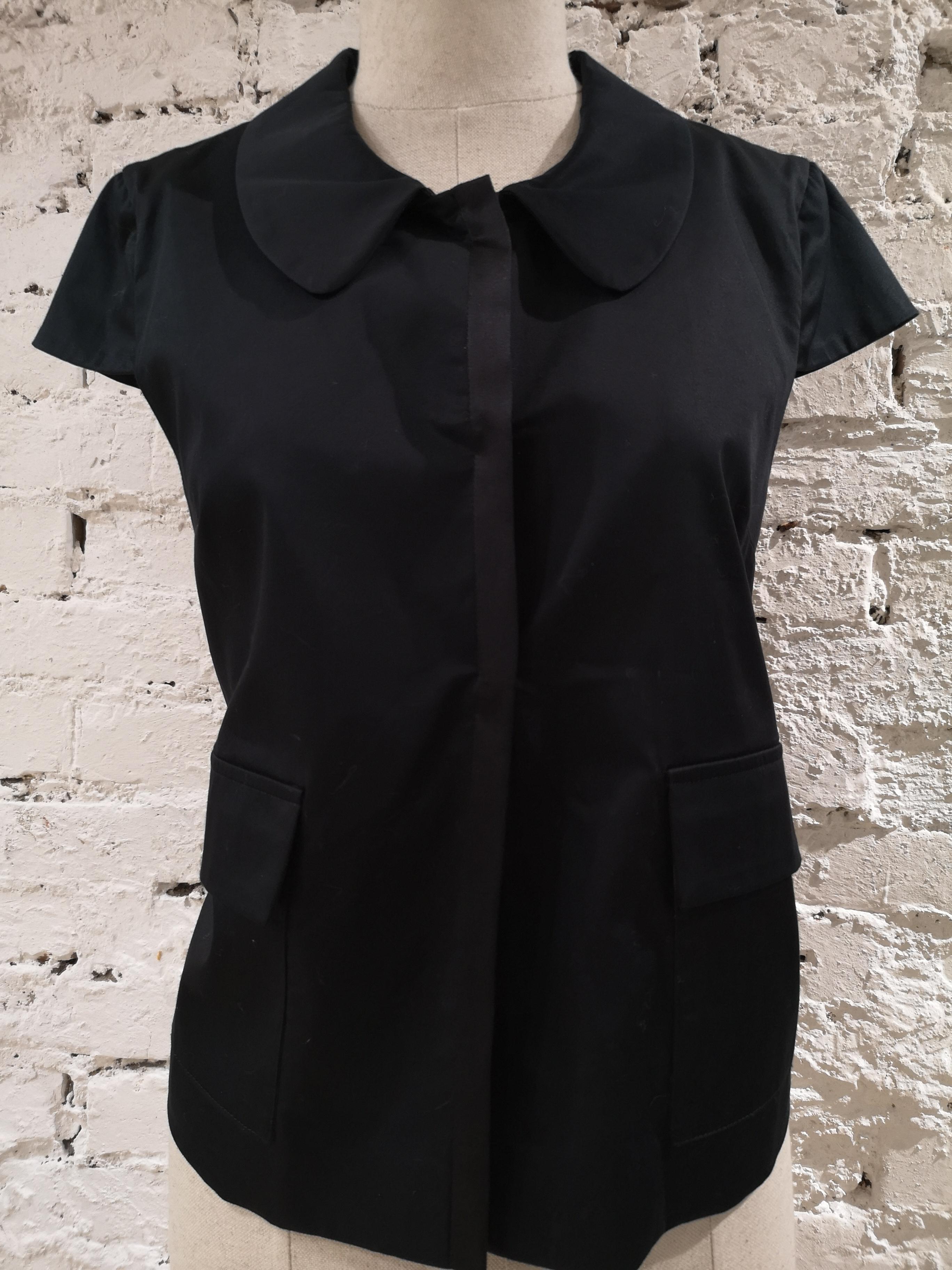 L'Autre Chose black shirt - sleeveless jacket L'autre Chose | Giacca | AC02150DEF\NERO