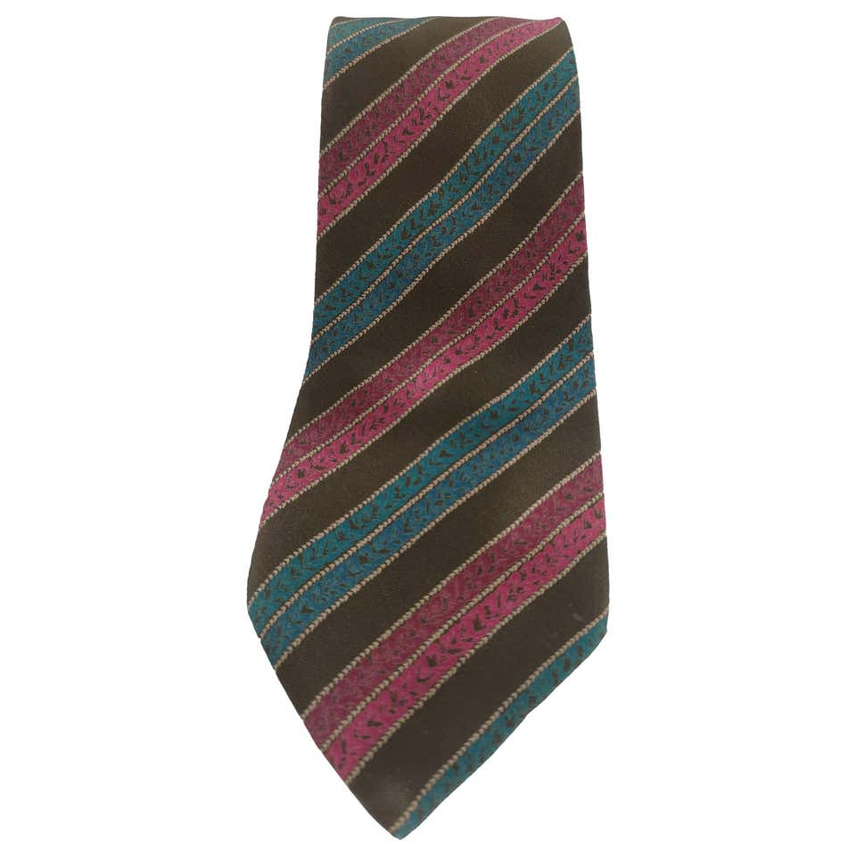 Missoni dark green multicoloured silk tie Missoni | Cravatta | TIE13MULTI2