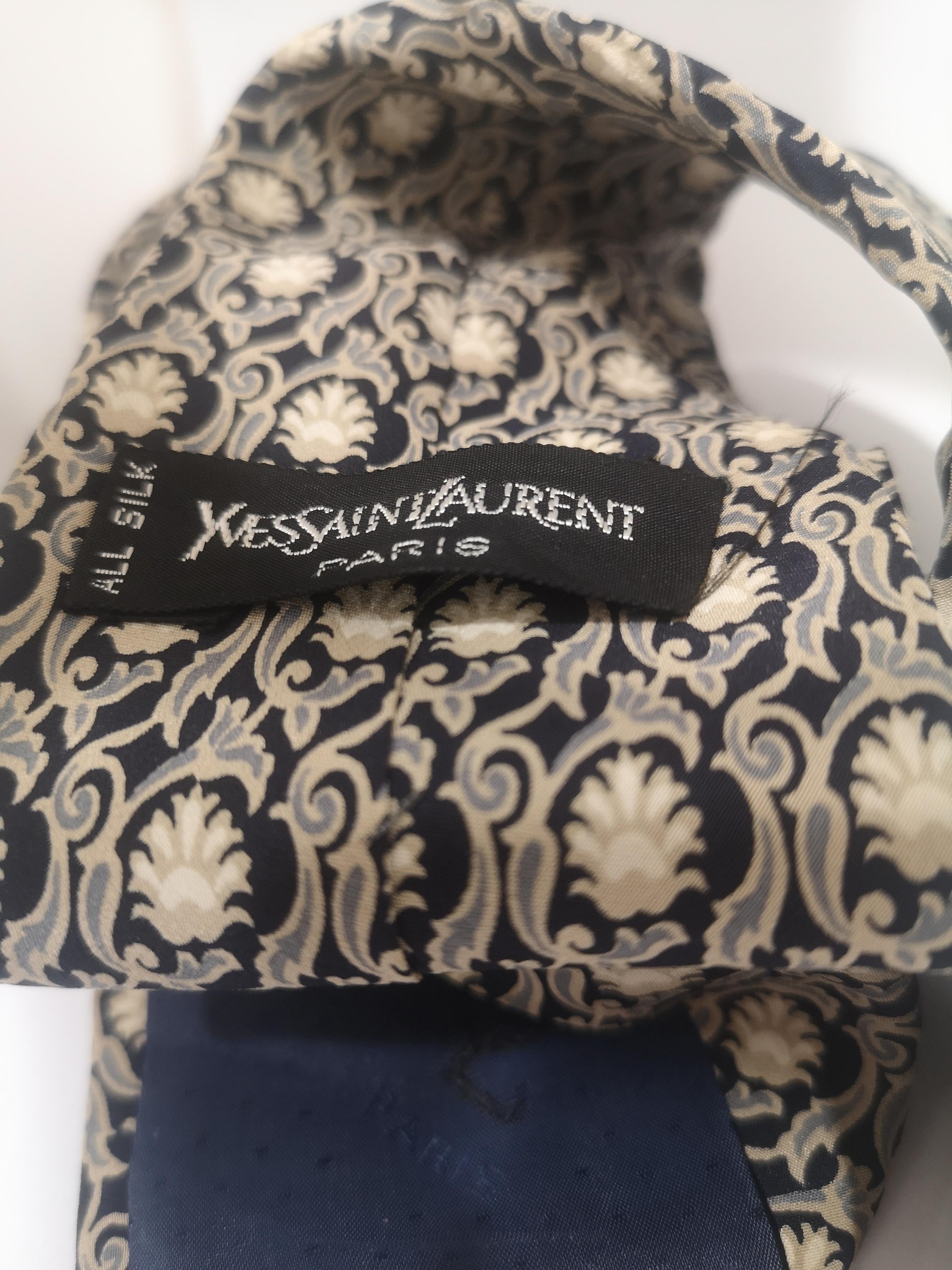 Yves Saint Laurent Vintage multicoloured silk tie yves saint laurent | Cravatta | TIE//MULTI1