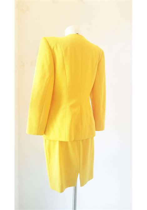 1980s Christian Dior yellow suit CHRISTIAN DIOR | Suit | VXR016100GIALLO