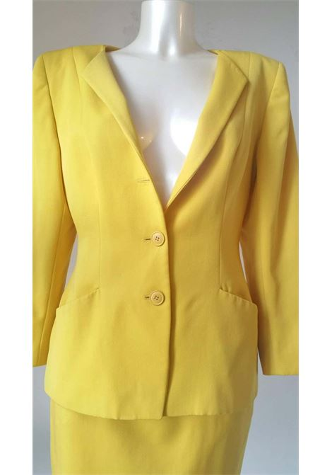 1980s Christian Dior yellow suit Christian Dior | Suits | VXR016100GIALLO