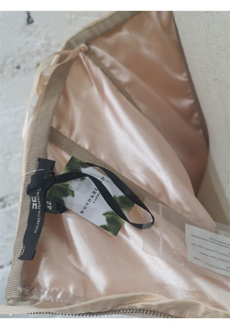 Elisabetta Franchi peach feathers dress Elisabetta Franchi | Abito | ABITO PIUMEPESCA