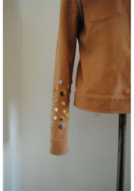 Fendi jacket with studs Fendi | Jackets | VXR01518CAMMELLO