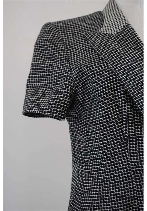 1990s Gai Mattiolo Black & White Pied de Poule Jacket Gay Mattiolo | Giacca | VXR0114BIANCO NERO