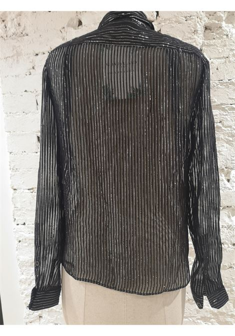 Gucci black silver see-through silk shirt Gucci | Shirts | EB01A0100EXNERO