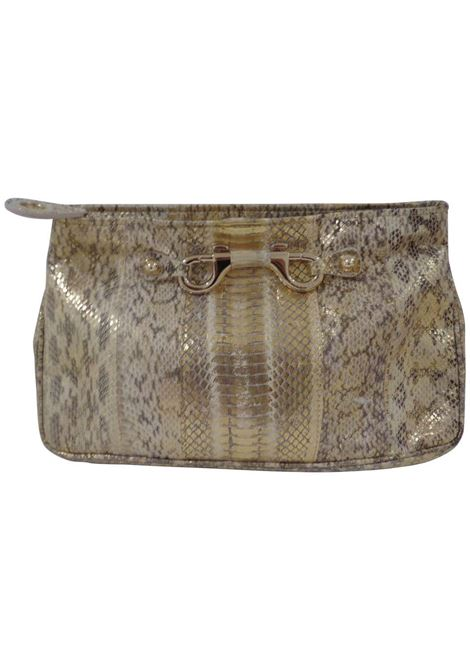 Jimmy Choo gold and silver tone pochette Jimmy Choo | Borsa | VXR023ORO