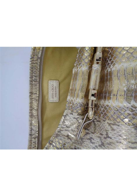 Jimmy Choo gold and silver tone pochette Jimmy Choo | Bags | VXR023ORO