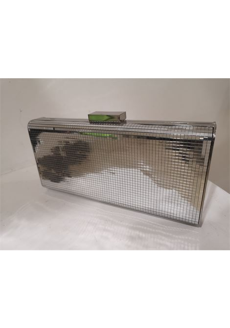 Moschino silver mirrored clutch shoulder bag NWOT Moschino | Borsa | ARGENTOACCIAIO