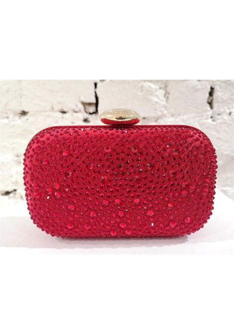Moschino Red Swarovski Handle Bag / Shoulder Bag NWOT