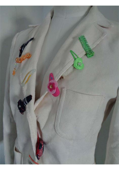 Moschino Jeans White cotton Jacket Moschino | Jackets | VXR01516COIFFEUR