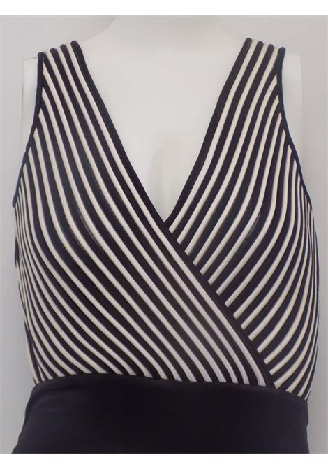 Valentino Night Black and White body top Valentino | Tops | CCTOP01A0150GHBIANCO NERO