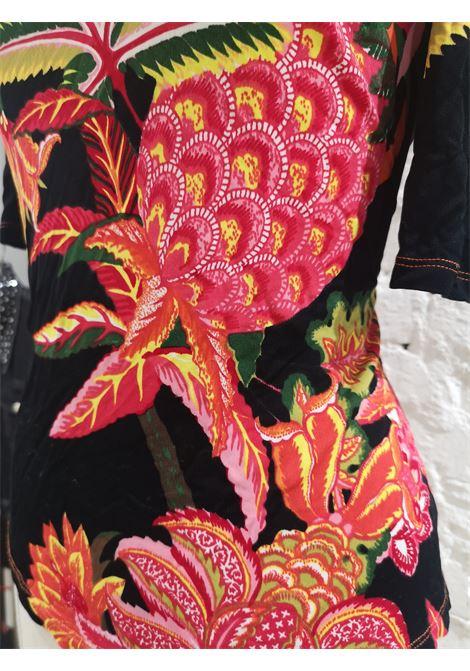 Versace cotton multicoloured t-shirt Versace | Maglia | VXR014023B.NERO
