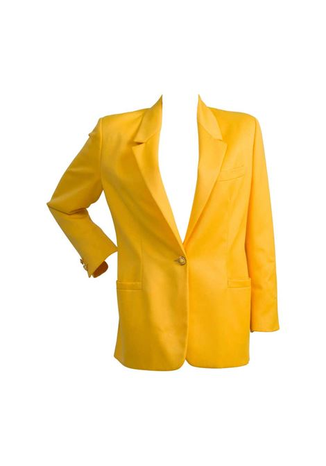 1990s Versus by Gianni Versace yellow jacket Versace | Jacket | VXR0158GIALLO