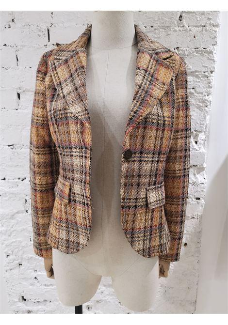 Vintage multicoloured cotton jacket VIntage | Jackets | VXR01127VENDOME