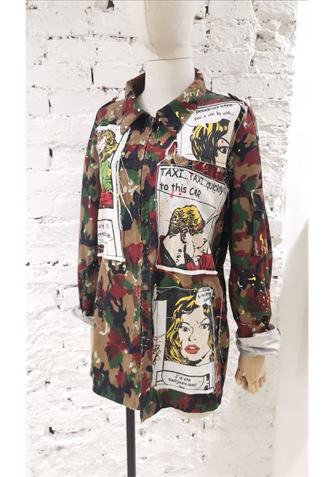 Camouflage comic cotton shirt / jacket VIntage | Shirts | VXR014074EVENTI