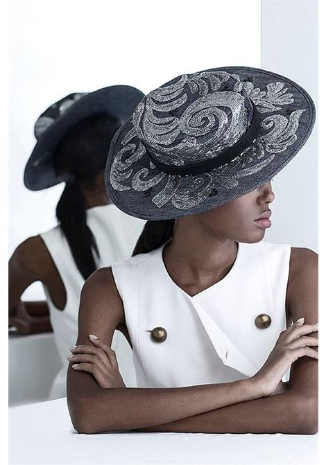 Bruna Abreu | Hats | LIGHT BLUSEQUINES