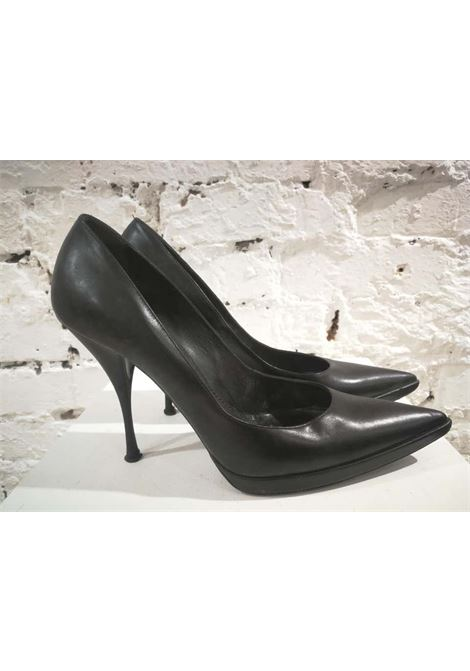Casadei Black Leather Decollete Casadei | Scarpe | AM0135EX040BGNERO