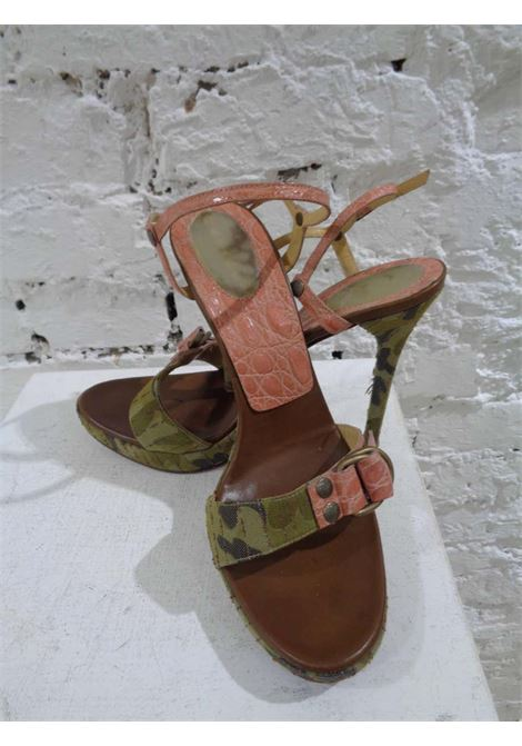 Casadei | Sandals | AM0150EX050TCCAMOUFLAGE