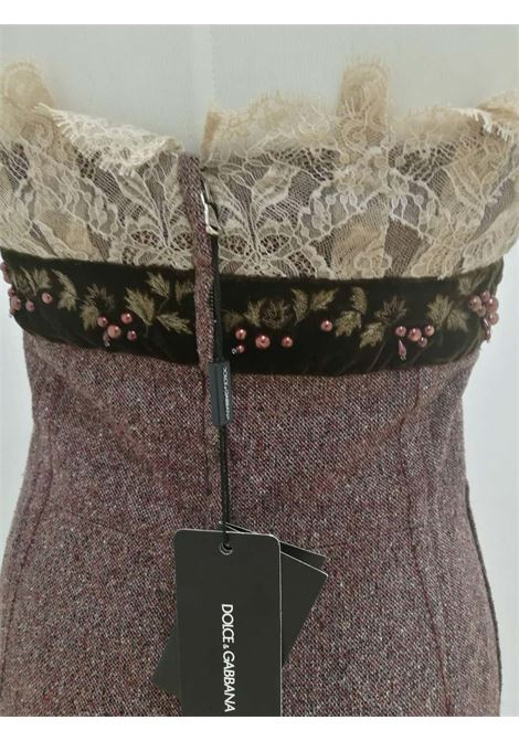 Dolce & Gabbana light purple wool Dress NWOT Dolce&Gabbana | Abito | LB03A0100EXZMULTI