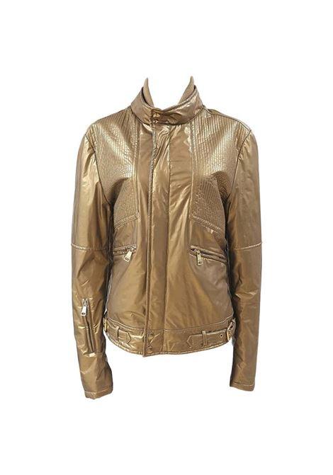 Dolce & Gabbana gold biker jacket Dolce&Gabbana | Jackets | VXR017083PIED DE POULE
